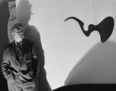 Alexander Calder ,New York ,1940 by Andre Kertesz