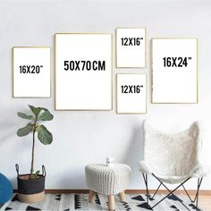 Home Interior Loft Contemporary art Large wall art Rose gold decor Bedroom Wall Art Sets, Wall Art Prints, Diy Framed Wall Art, Wall Of Art, Wall Frame Set, Gold Frame Wall, Cheap Wall Art, Artwork Wall, Gold Frames