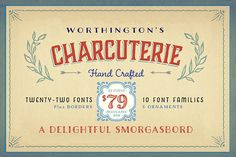 Charcuterie Collection by Laura Worthington on Creative Market
