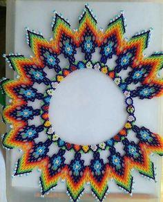 Beaded Necklace Patterns, Beaded Jewelry, Beadwork Designs, Beaded Crafts, Beaded Collar, Bead Loom Patterns, Native American Beading, Beading Tutorials, Loom Beading