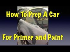 How To Prep A Car For Primer and Paint - Eastwood Mustang Project Car Rust Repair, Car Paint Repair, Car Painting, Spray Painting, Auto Body Work, Automotive Shops, Car Fix, Car Hacks, Diy Car