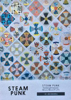 Steam Punk Quilt Pattern Jen Kingwell Jen by SunshineFiberArts