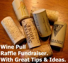 Boom!!! Here's a super cool raffle idea to add to your events! It's the Wine Pull Fundraiser. Find out how here -> www.rewarding-fundraising-ideas.com/wine-pull-raffle.html (Photo by Kate Ter Haar / Flickr)