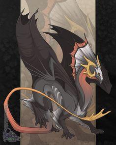 Deaths Head Dragon by NeonDragon