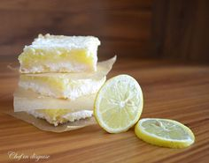 Lemon bars @chef in disguise