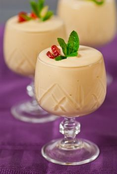 Easter Themed Month: Marsala white chocolate mousse