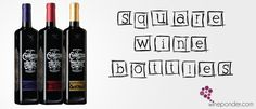 Square Wine Bottles