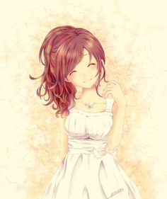 Love anime this reminds me of a happy girl that could not stop being happy