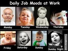Funny Faces at Work