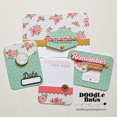Doodlebugs: Project Life/ Pocket Scrapbooking with Technique Tuesday