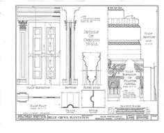 HABS LA,24-WHICA.V,1- (sheet 25 of 36) - Belle Grove, White Castle, Iberville Parish, LA