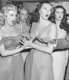 Marilyn and Adele Jergens in Ladies of The Chorus in 1948.
