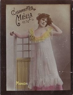 CHROMO CIGARETTES MELIA -ALGERIA - MANON | Flickr - Photo Sharing!