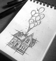 My Disney Drawing - Arte criada por Túlio Vieira de Niterói, RJ. - Zeichnungen und coole Malerei - My Disney Drawing - Arte criada por Túlio Vieira de Niterói, RJ. Cool Art Drawings, Pencil Art Drawings, Doodle Drawings, Art Drawings Sketches, Beautiful Drawings, Cute Drawings Tumblr, Tumblr Art, Tattoo Sketches, Beautiful Pictures