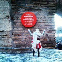 I was not planning on doing any writing, but... #ftp #Colosseum #Rome #Italy #AlreadyClimbedIt #ClimbAllTheThings #ItsMyBuildingAndIllClimbIfIWantTo