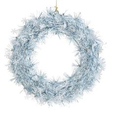 Grab yourself a Silver and Blue Tinsel Wreath from Poundland to add to the festive ambience this Christmas Christmas Fair Ideas, Baby Birthday, Halo, Festive, Xmas, Classy, Wreaths, Culture, Decorating
