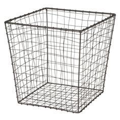 Trådkorg kub 30x30