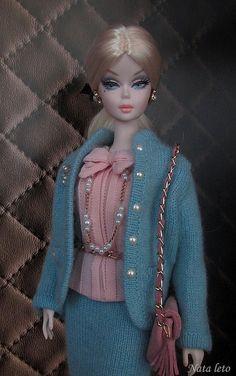 Silkstone Barbie Doll Mermaid Gown