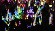 Glowstick costumes - what more do we need to say! Runthenight.co.nz