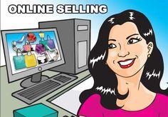 Start selling online in minutes. #Website