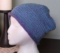 Cute Tunisian Crochet Hat with tutorial and video instructions