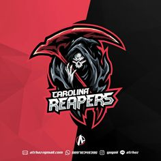 Reaper E-sports mascot logo , Best game graphic design, Top gaming inspiration ideas by yugoii Logo Desing, Team Logo Design, Esports Logo, Arte Obscura, Dog Vector, Dog Logo, Game Logo, Logo Sticker, Logo Design Inspiration