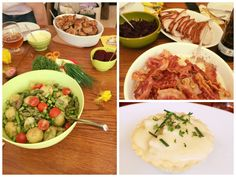 Meat dishes at Easter, from the blog The Copenhagen Tales