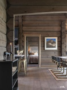 Earthy Home Decor, Modern Rustic Homes, Timber House, Indoor Outdoor Living, Modern Kitchen Design, Living Room Inspiration, Log Homes, Cheap Home Decor, Home Remodeling