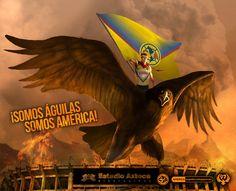 ¡Somos Águilas, Somos América! @CF_America • #americanografico