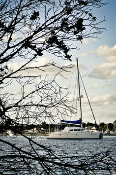 Quiet and secluded anchorage in Stuart Florida