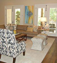 Jeanne Dollins Designs – Den and Living Rooms O