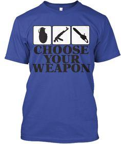 Gamer shirt Choose your weapon #gamer #gaming #shirt #shooter #geek