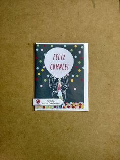 Mira este artículo en mi tienda de Etsy: https://www.etsy.com/es/listing/250353133/tarjeta-de-feliz-cumpleanos-gris-con