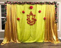 Housewarming Decorations, Diy Diwali Decorations, Wedding Stage Decorations, Engagement Decorations, Girl Baby Shower Decorations, Backdrop Decorations, Flower Decorations, Marriage Decoration, Desi Wedding Decor