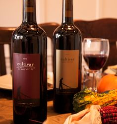 @cultivarwine red wine pairing recommendations for your Thanksgiving feast: Cultivar Oak Knoll Cabernet Franc, Cultivar Napa Valley Cabernet Sauvignon, and Cultivar Phoenix Ranch Syrah. #wine #cabernetsauvignon #cabernetfranc #syrah #thanksgiving #napavalleywine