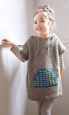 Ravelry: 214a-25 Pocket Hoodie pattern by Pierrot (Gosyo Co., Ltd)