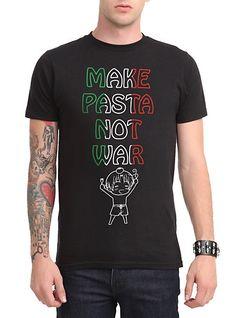 Hetalia: Axis Powers Make Pasta Not War T-Shirt | Hot Topic