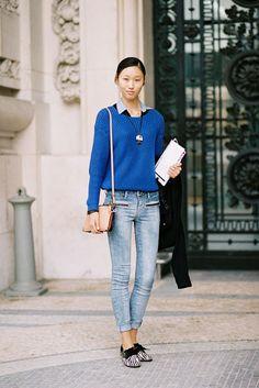 Vanessa Jackman: Paris Fashion Week SS 2013....Jiang
