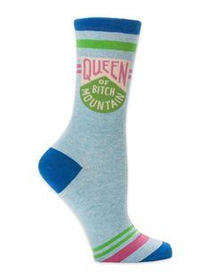 Women/'s Shoe Size 5-10 ADULT IN TRAINING Women/'s Crew Socks by Blue Q