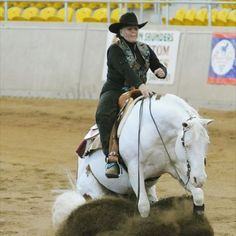 At first I thought this was a dominant white or extreme sabino, but seems to be a Paint. I wish I could ride this horse, no matter what color he or she really is.