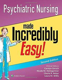 Psychiatric Nursing Made Incredibly Easy! by Lippincott  ... https://www.amazon.com/dp/145119255X/ref=cm_sw_r_pi_dp_x_WRO2ybAAGWT1H