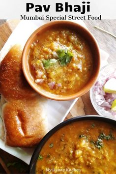make pav bhaji in one pot in just 30 minutes. This is delicious brunch item. Curry is basically lots of mashed veggies cooked in special spices. Mumbai Street Food, Indian Street Food, Lunch Recipes, Breakfast Recipes, Cooking Recipes, Vegetarian Curry, Vegetarian Recipes, Bhaji Recipe, Bangladeshi Food