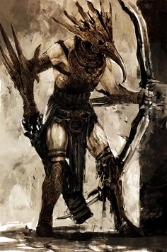 Scythian archer from Prince of Persia: The Two Thrones Prince Of Persia, Dark Lord, Fantasy Characters, Game Art, Fantasy Art, Concept Art, Beast, Video Games, Two By Two