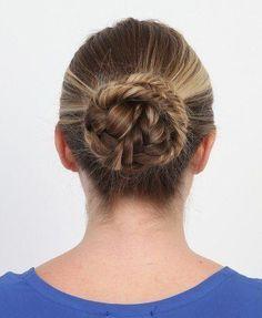 The Double Fishtail Bun.Makeup.com
