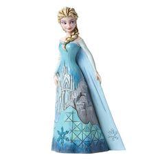 Enesco Disney Showcase Traditions Frozen Fortress Elsa Figure - Radar Toys