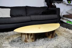 Skimboard Couchtisch Upcycling