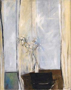 thelma hulbert(1913–95), honesty and window, 1972. oil on canvas, 156 x 127 cm. royal albert memorial museum http://www.bbc.co.uk/arts/yourpaintings/paintings/honesty-and-window-95846