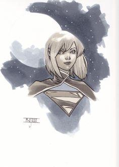 Supergirl by Mahmud Asrar *