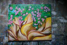 Original Floral Painting by Aleksandra Cherepanova Modern Art, Contemporary Art, Oil Painting On Canvas, Oil Paintings, Books A Million, Contemporary Light Fixtures, Art Story, First Video, Creative Artwork