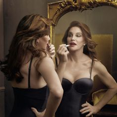 See Caitlyn Jenner's First Beauty Campaign  - ELLE.com